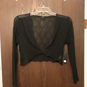 """NWT Komarov Dressy, Light, Black, """"Jacket""""-S"""